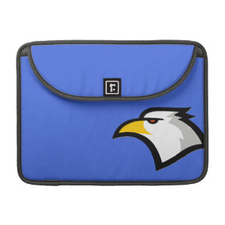 Bald Eagle on Royal Blue Sleeve For MacBooks