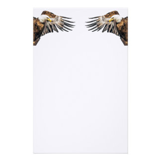 Bald Eagle on the Wing Stationery