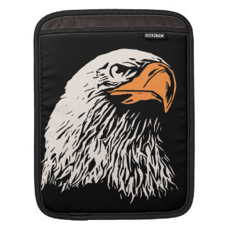Bald Eagle Patriotic Sleeves For iPads