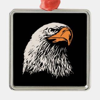 Bald Eagle Patriotic Christmas Tree Ornaments