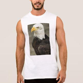 Bald Eagle Photo Sleeveless Tee