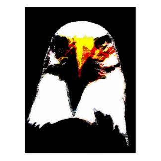 Bald Eagle Pop Art Postcard