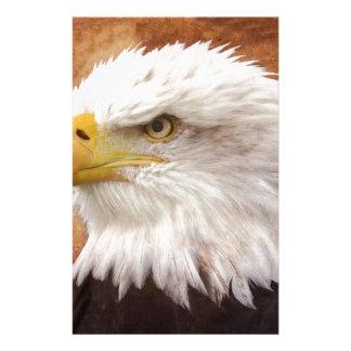 Bald Eagle Portrait Stationery