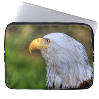 Bald Eagle Portrait Wildlife Photography Computer Sleeve