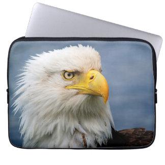 Bald Eagle Portrait Wildlife Photography Laptop Sleeve
