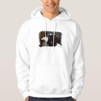 Bald Eagle Pose Sweatshirt