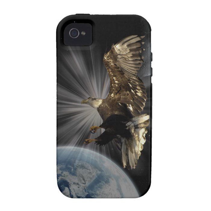 Bald Eagle POSSIBILITIES Motivational iPhone 4 iPhone 4 Cover