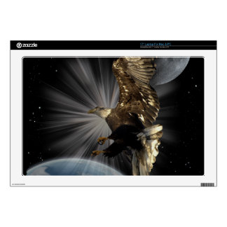 "Bald Eagle POSSIBILITIES Space Skins 17"" Laptop Decal"
