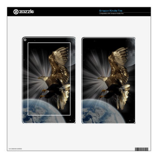 Bald Eagle POSSIBILITIES Space Skins Skins For Kindle Fire
