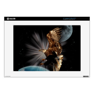 Bald Eagle POSSIBILITIES Space Skins Skins For Laptops