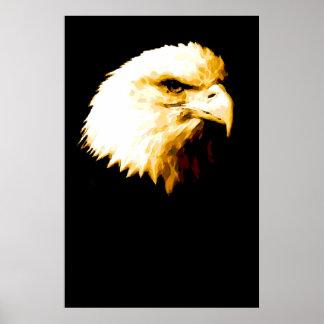 Bald Eagle Poster Print - American Eagle Posters