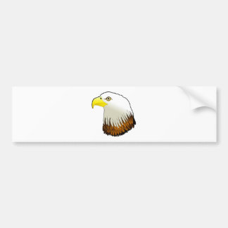 Bald Eagle Powerful Bird of Prey Bumper Sticker