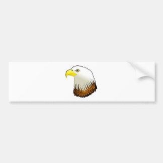 Bald Eagle Powerful Bird of Prey Bumper Sticker