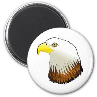 Bald Eagle Powerful Bird of Prey Magnet