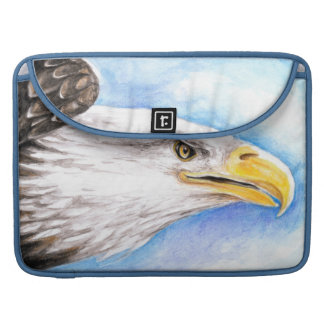 Bald Eagle Profile Sleeve For MacBook Pro