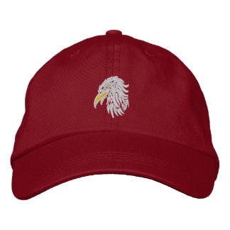 bald eagle  Proud Embroidered Baseball Cap