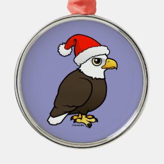 Bald Eagle Santa Christmas Tree Ornament
