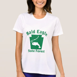 Bald Eagle SF Fish T-Shirt