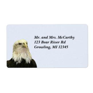 Bald Eagle Shipping Address Avery Label