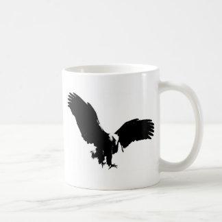 Bald Eagle Silhouette Coffee Mug