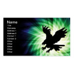 Bald Eagle Silhouette; Cool Business Card Template