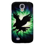 Bald Eagle Silhouette; Cool Samsung Galaxy S4 Cases
