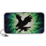 Bald Eagle Silhouette; Cool Laptop Speaker
