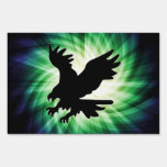 Bald Eagle Silhouette; Cool Lawn Sign