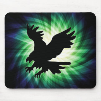 Bald Eagle Silhouette; Cool Mousepads