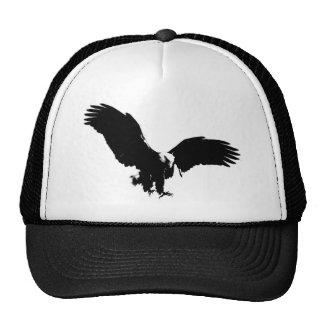 Bald Eagle Silhouette Trucker Hat