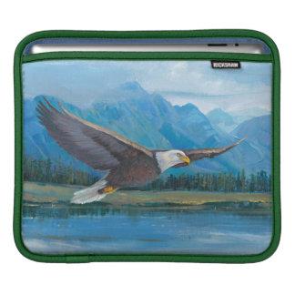 Bald Eagle Soaring iPad Sleeve