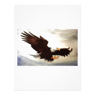 Bald Eagle Soaring Letterhead