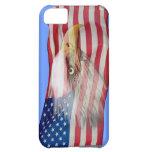Bald Eagle Spirit & US Flag Patriotic Phone Case Case For iPhone 5C