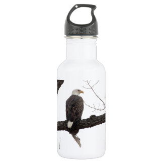 Bald Eagle Stainless Steel Water Bottle