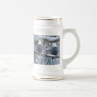 Bald Eagle stein/mug