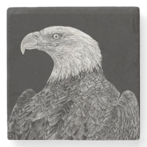 Bald Eagle Stone Coaster