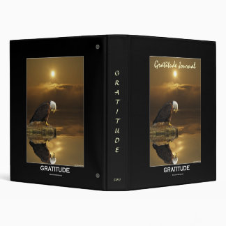 BALD EAGLE & SUNSET Gratitude Journal Binder