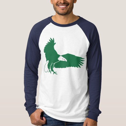 Bald Eagle T-Shirt Green