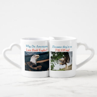 Bald Eagle Talon-ted Pun Mug