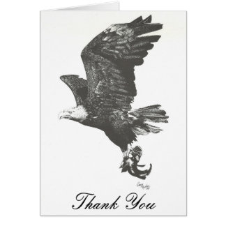 Bald Eagle Thank You Card
