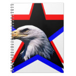Bald eagle & the three star note book