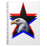 Bald eagle & the three star notebook