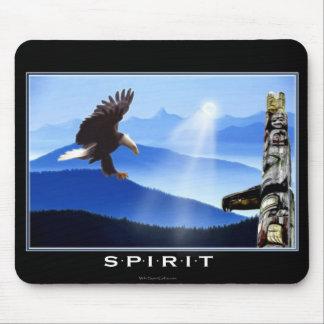 Bald Eagle & Totem Pole Mouse Pad