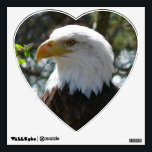 """Bald Eagle - United States National Bird Wall Sticker<br><div class=""""desc"""">Welcome to DELIGHTS! We are open. Do a favor for your family and friends and give them our link: http://www.zazzle.com/Delights?rf=238549869542096443*</div>"""