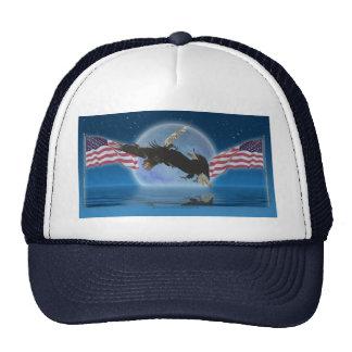 BALD EAGLE & US FLAG Patriot Series Trucker Hat