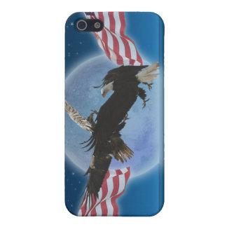 Bald Eagle & US Flag Patriotic iPhone Case