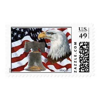 Bald Eagle US Postage Stamps