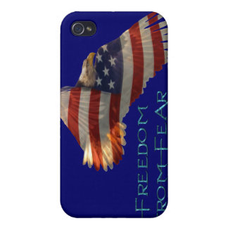 Bald Eagle USA Patriotic Military iPone Case Cover For iPhone 4