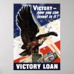 Bald Eagle -- Victory Loan Poster