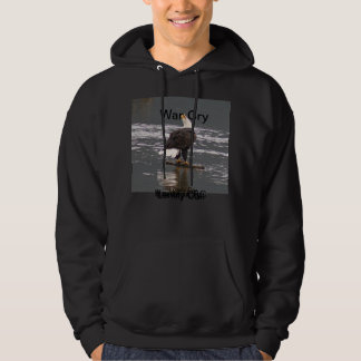 Bald Eagle War Cry Hoodie
